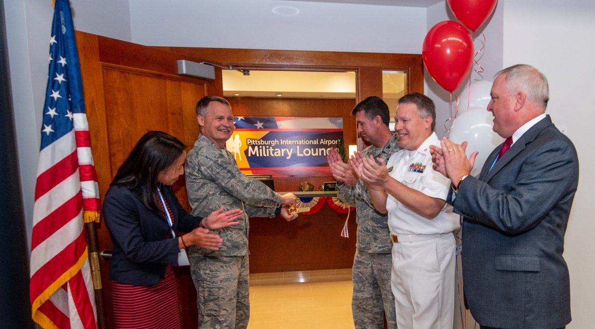 New Military Lounge Provides Support, Connections