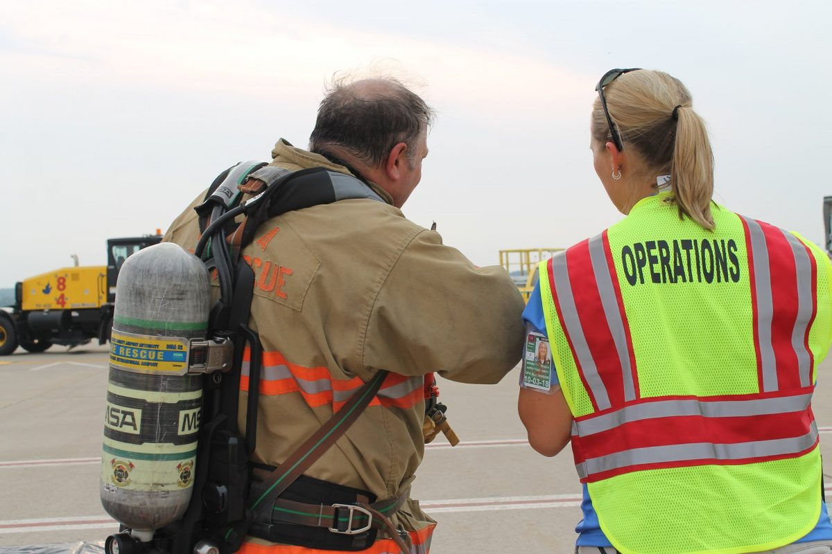 Emergency Preparedness Drill Keeps Airport On Its Toes
