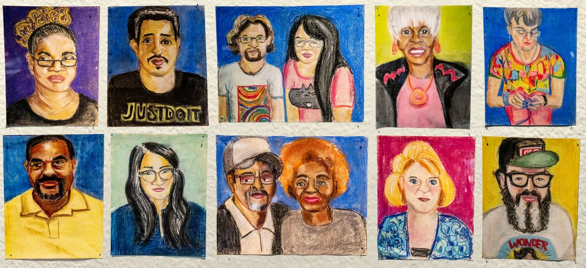 Recognize Anyone? Artist Captures Faces of Pittsburgh Travelers