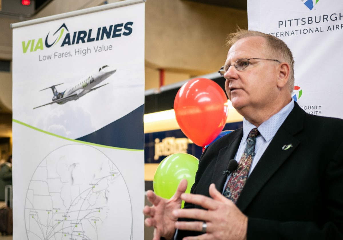 Via Airlines Brings Four New Routes to Pittsburgh