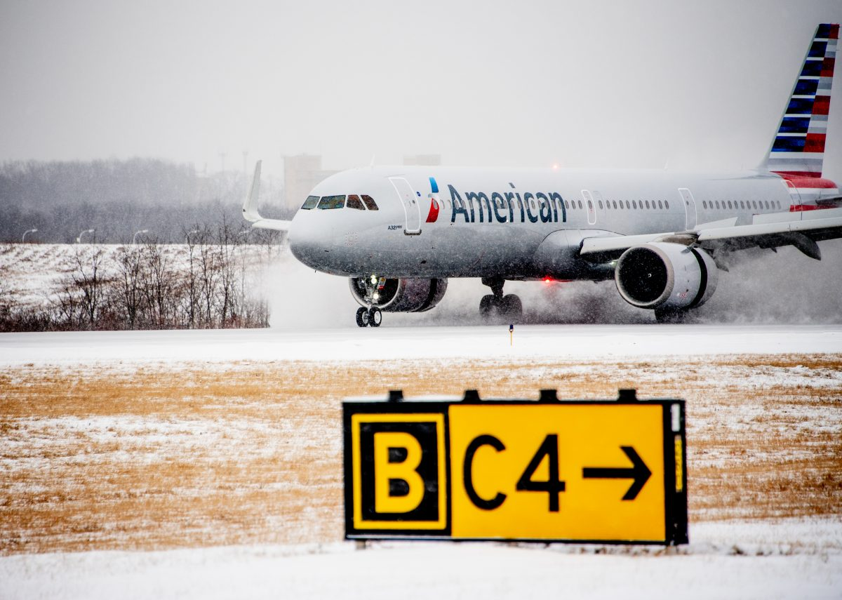 American Airlines' PIT Maintenance Base Lands A321neo
