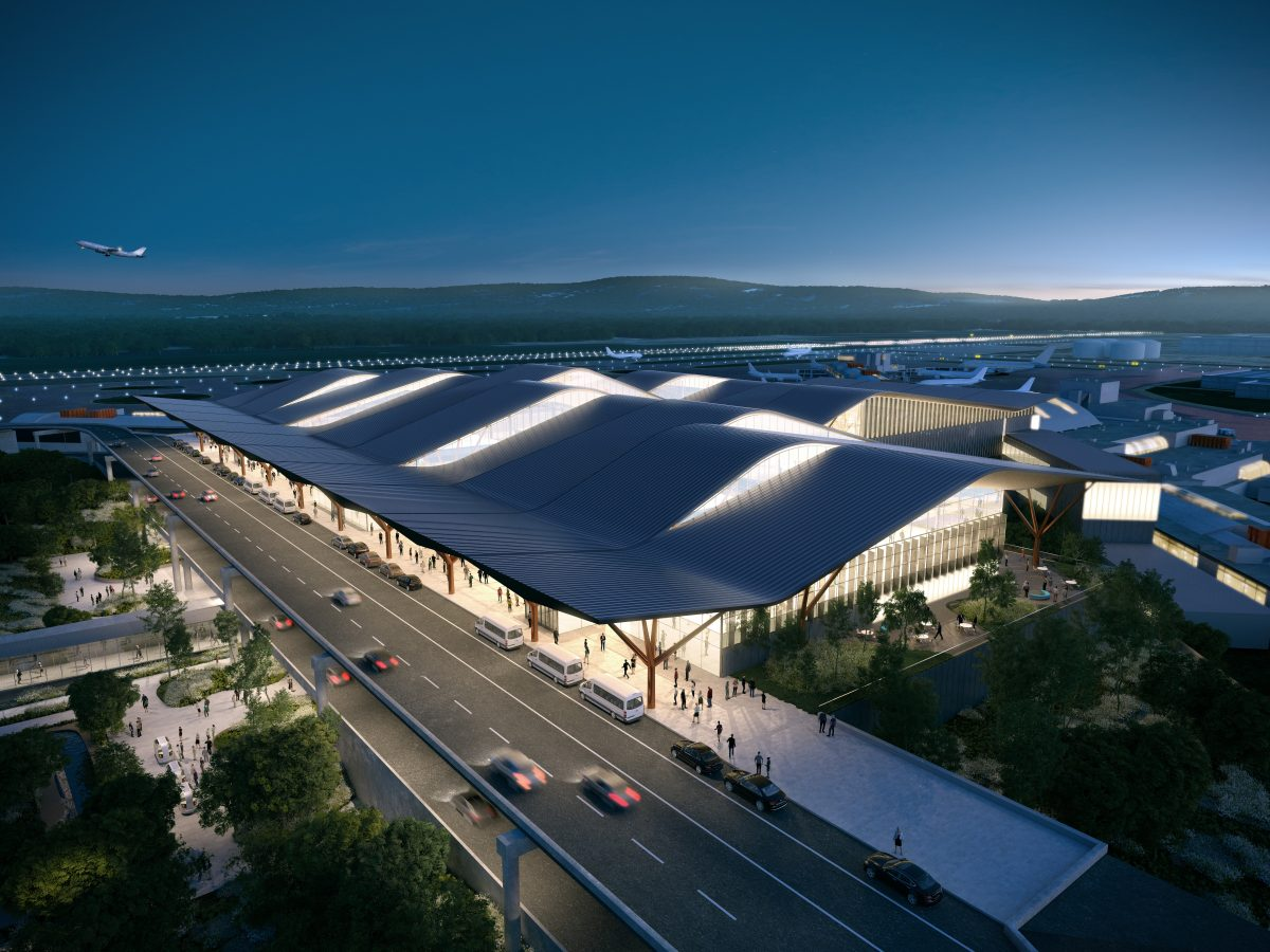 New Airport Terminal Will Reflect Pittsburgh's DNA