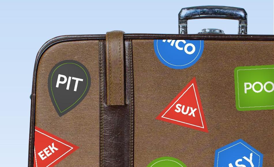 POO, BOO and EEK – Airport Codes That Make You LOL