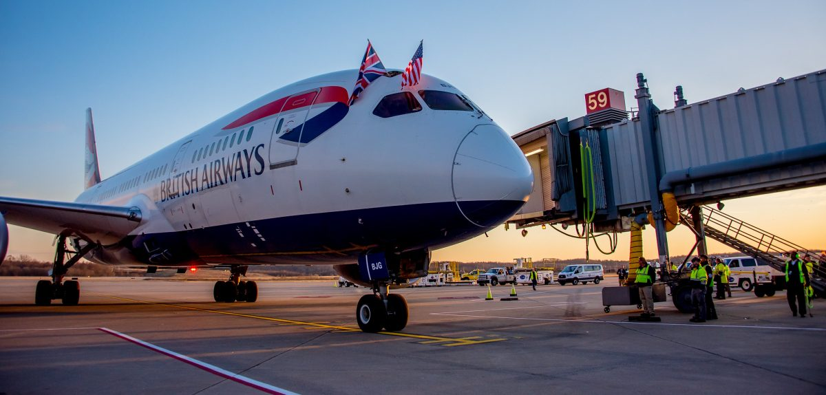 British Airways Touches Down in Pittsburgh After 20 Years
