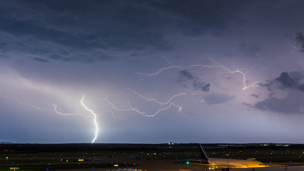 News Flash: When Lightning Halts Ground Operations