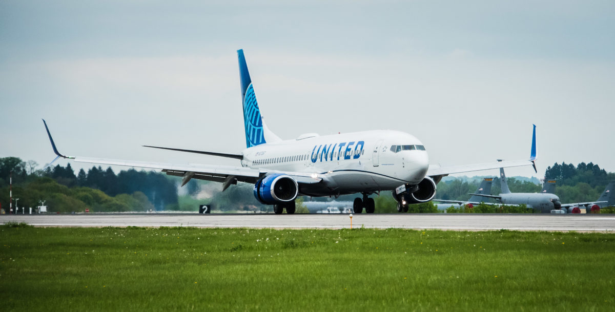 New United Livery Touches Down