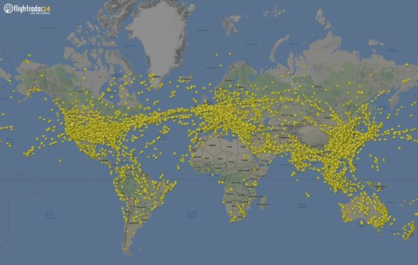 Flight Tracking Sites Serve as Eyes in the Sky