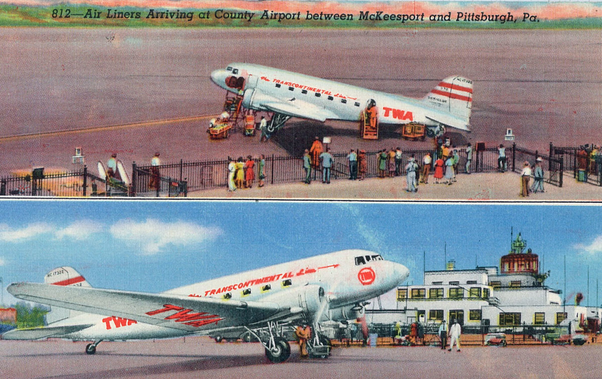 Vintage Postcards Offer Look at Aviation's Past
