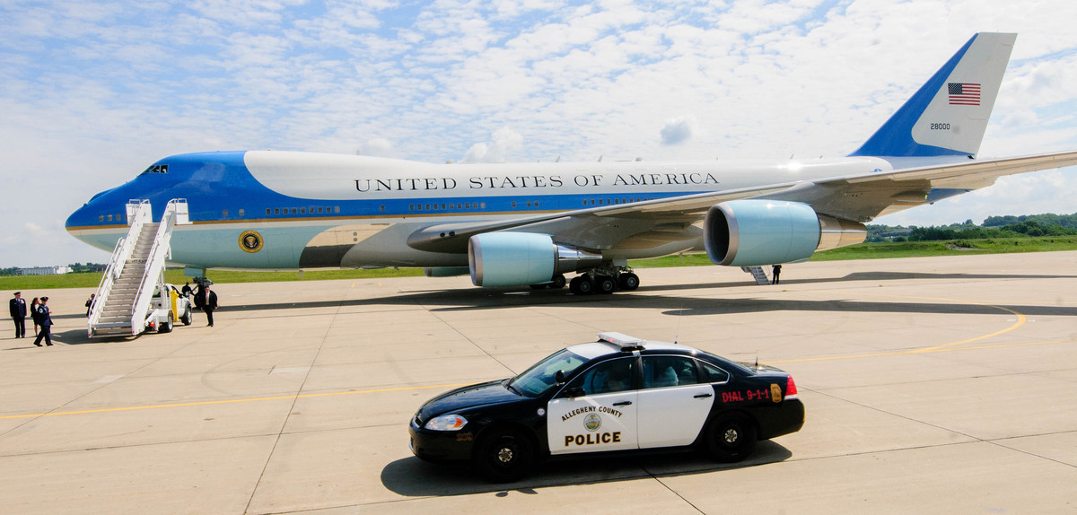 Planning for POTUS: Landing Air Force One (or Two)