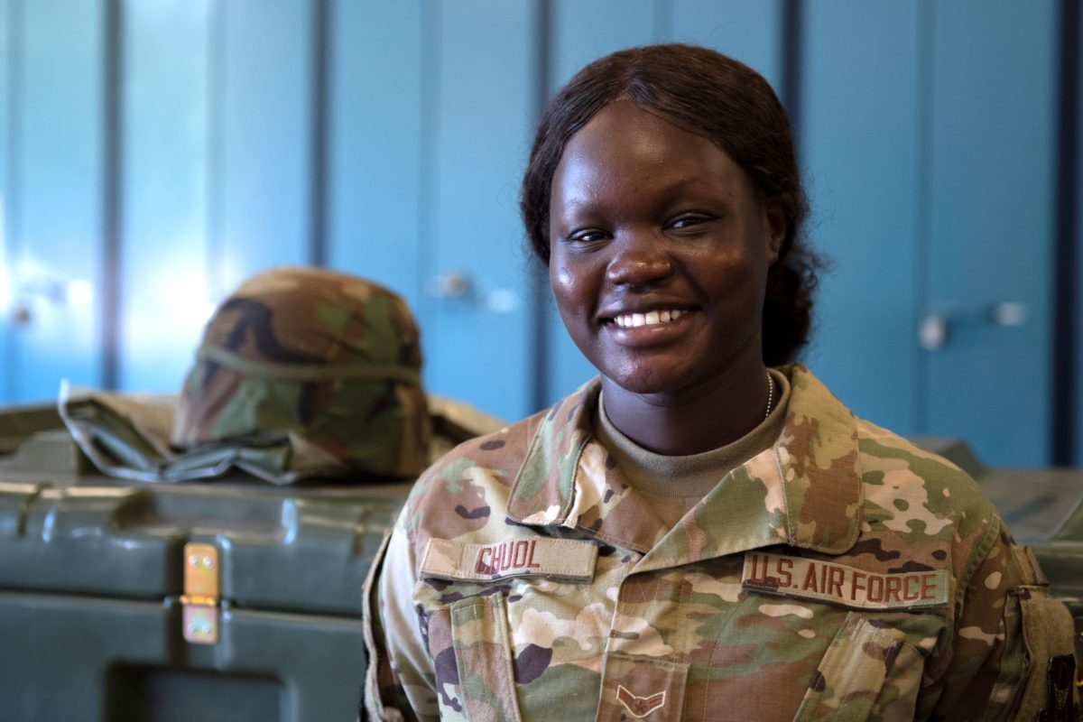 From Ethiopian Refugee Camp to Air Force Reservist