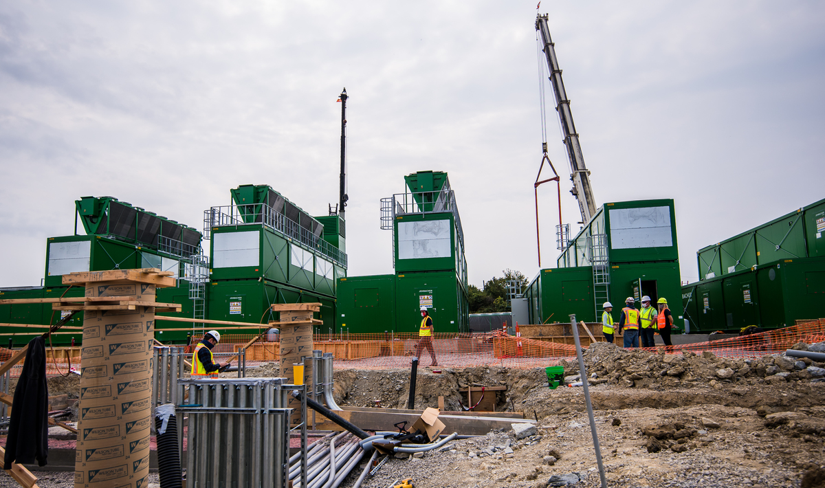 Construction Update: Crews 'Right on Track' With PIT Microgrid Project