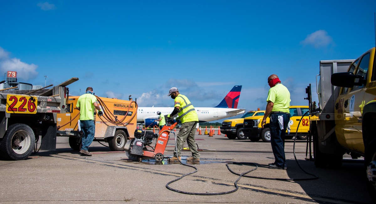 For Airport Employees, Business Never Stops