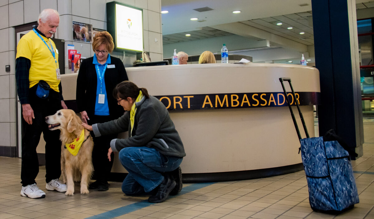 Airport's Volunteer Ambassadors Yearn to Return