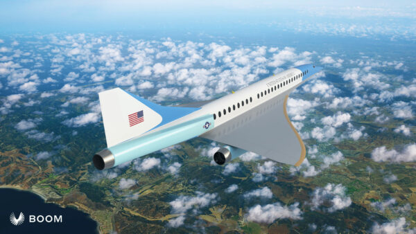 A Supersonic Air Force One?