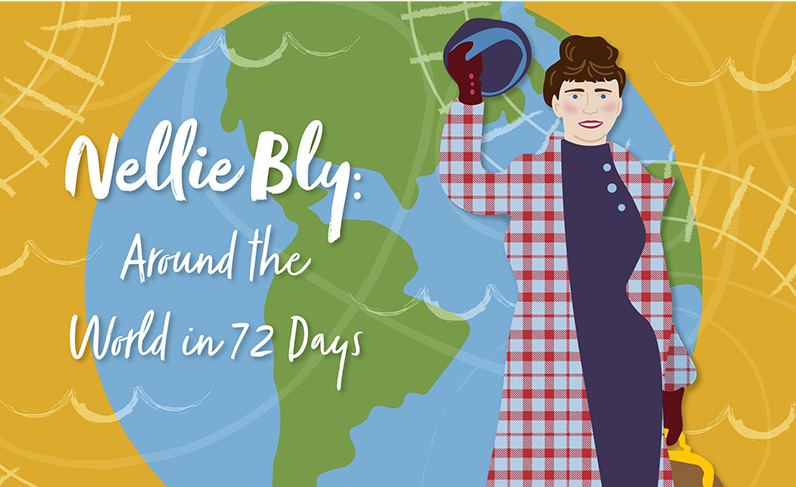 Nellie Bly's 1889 Trip 'Around the World' Goes Digital