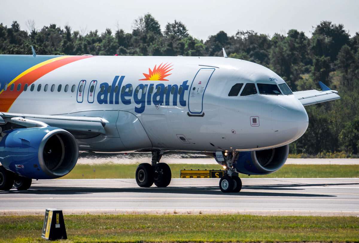 Allegiant Announces Network Expansion, Launch of New PIT Route