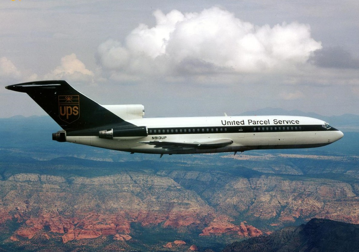 That Time When UPS Flew People, Not Packages