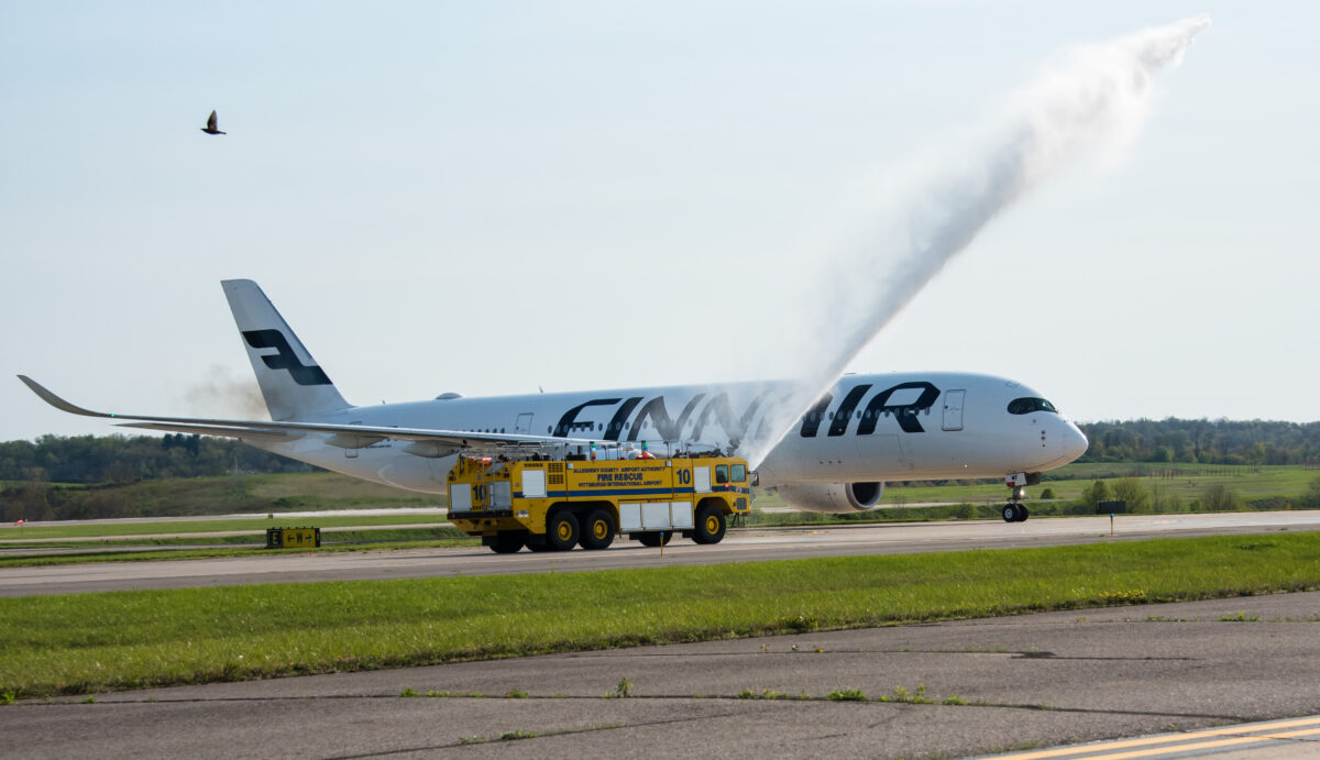 PIT Welcomes Finnair Cargo Flights Amid Upswing