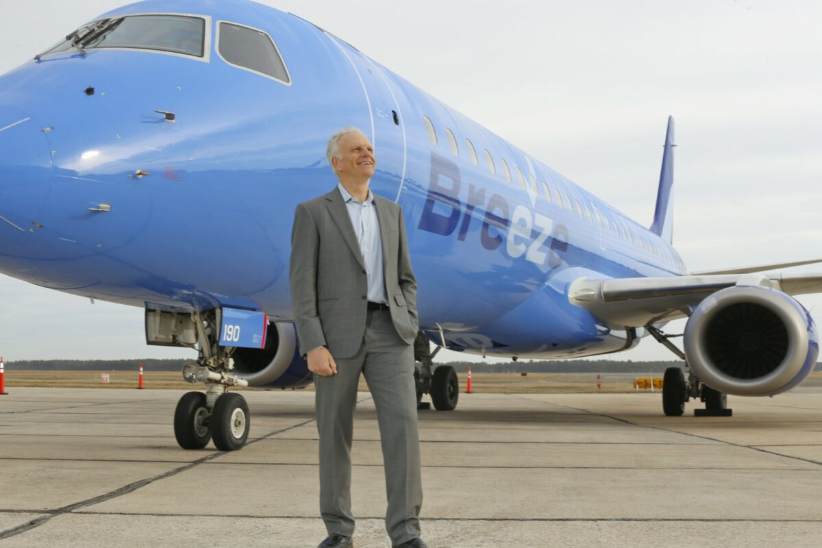 Breeze Airways to Launch Service from PIT to 4 Cities