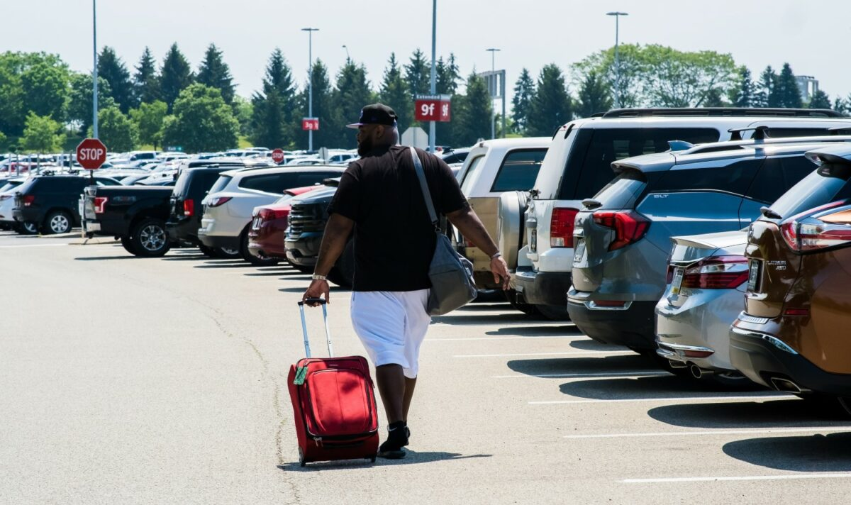 New Economy Parking Lot Adds Option for Travelers