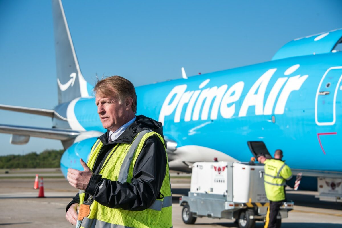 VIDEO: Amazon Air's Daily Cargo Service Packs Economic Punch, Jobs