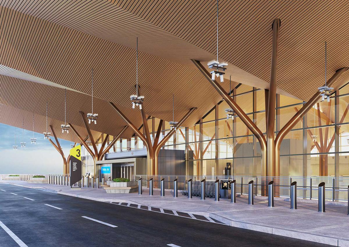 VIDEOS: Take a Virtual Drive Up to PIT's New Terminal