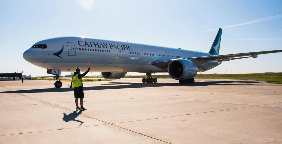 Cathay Pacific Returns to PIT With New Cargo Service
