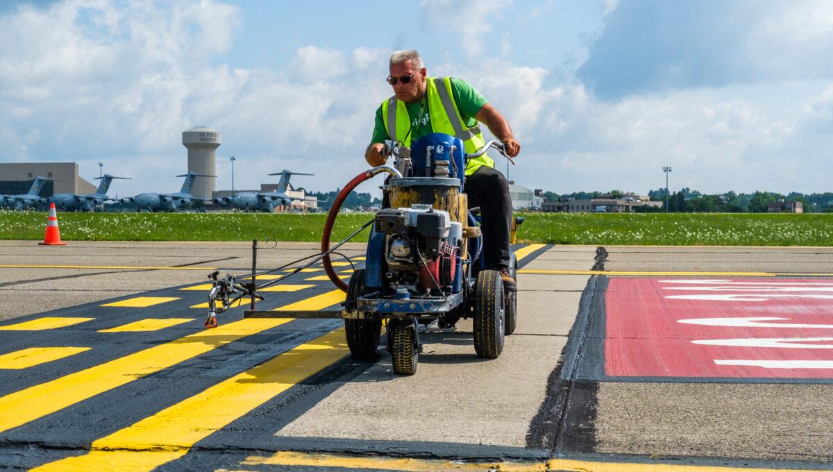 WATCH: Airfield Maintenance Never Stops